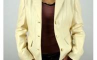 drapp női bőrkabát