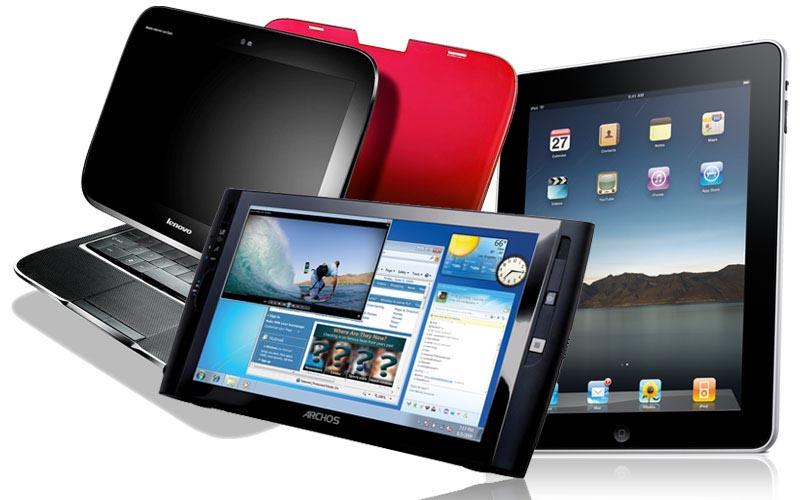 A számítógépek mellett egyre nagyobb teret kapnak a táblagépek is
