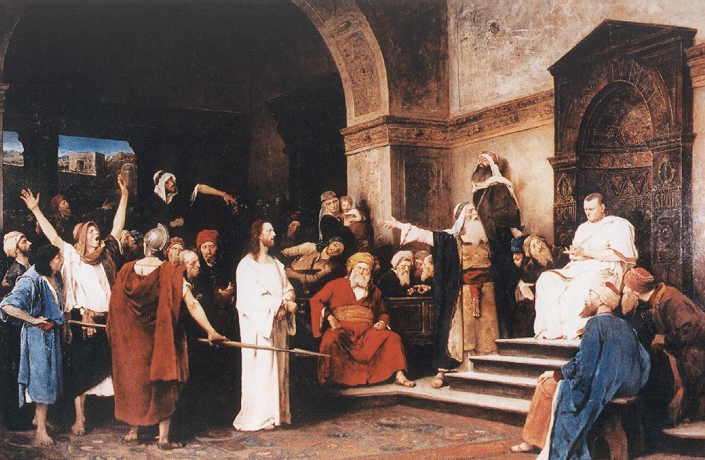 Munkácsy Mihály - Krisztus Pilátus előtt