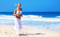 Futás a tengerparton: akár cipő nélkül is tehetjük