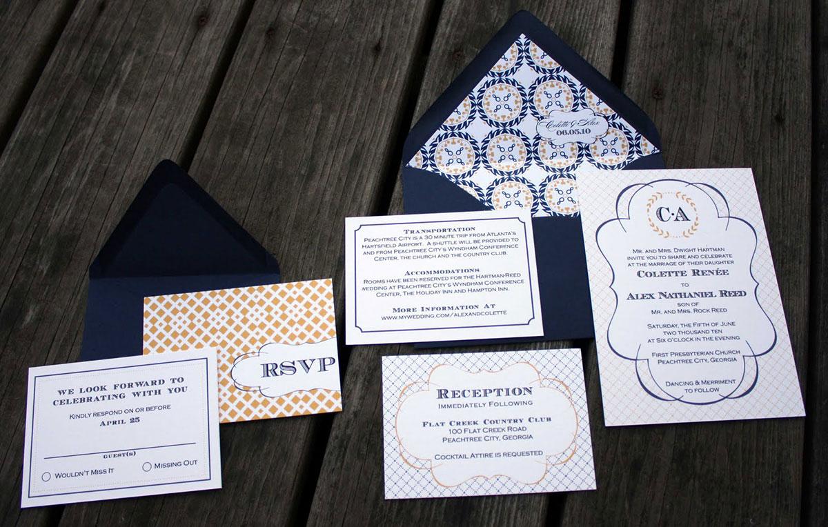 Esküvői meghívó nyomtatása