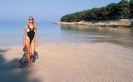 Nyaralás homokos tengerparton