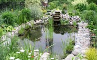 Egy szépen kialakított kerti tó az udvarunk dísze lehet